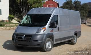 Dodge Promaster Cargo 2014 Ram Promaster Commercial Cargo Review And Road