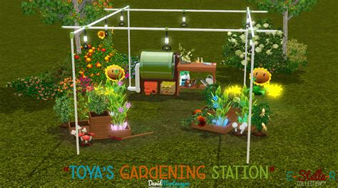 sims 3 garden ideas david montenegro quot toya s gardening station quot a new one for