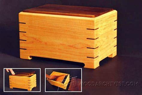 Keepsake Box Plans ? WoodArchivist