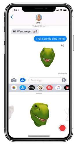 how to create and use animoji and emoji on iphone xr