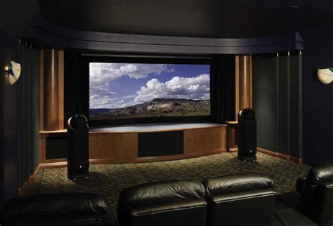 home theater installation in the houston area