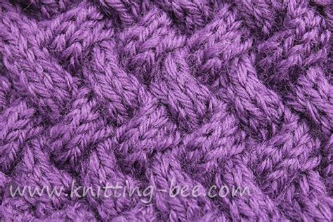 basketweave scarf pattern knitting medium sized diagonal basketweave cable knitting stitch