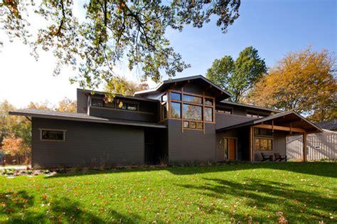 Exterior Home Design Kansas City by Exterior Contemporary Exterior Kansas City By
