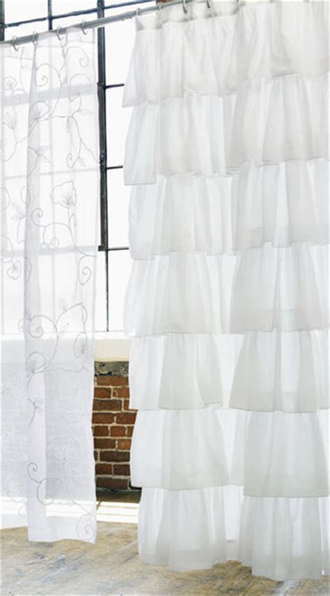 houzz shower curtains ruffle shower curtain traditional shower curtains by