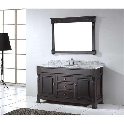 Bathroom Vanity Cabinet Sets Huntshire 60 Quot Single Bathroom Vanity Cabinet Set In