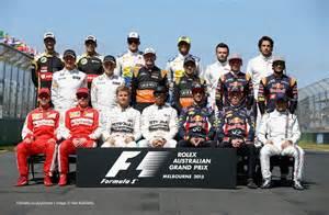 F1 Driver Dwindling Grids Ten Years Of Drivers Class Photos F1 Fanatic