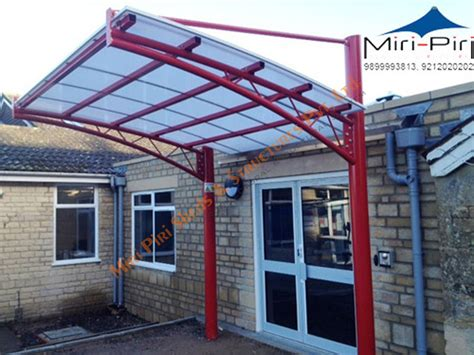 Entrance Awning by Cantilevered Entrance Canopy Entrance Awning Structures
