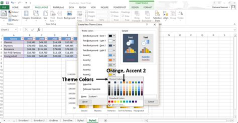 tutorialspoint excel excel charts chart styles