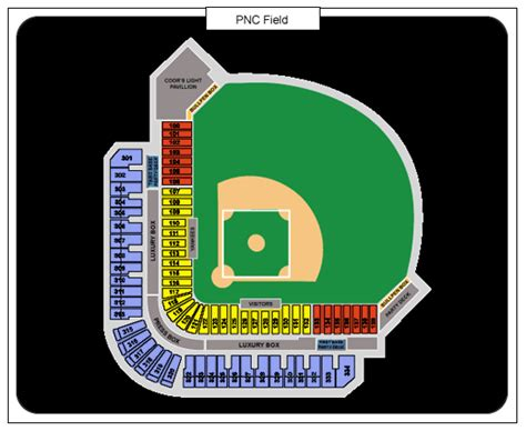 railriders seating chart pnc field seating chart pnc field seats ticketwood
