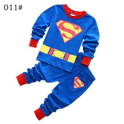 Piyama Boy Superman 2 7 yrs boys pajamas batman superman pijamas infantil