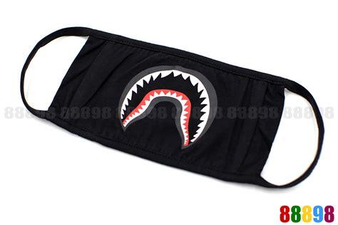 Bape A Bathing Ape Mask new a bathing ape bape shark black mask ebay