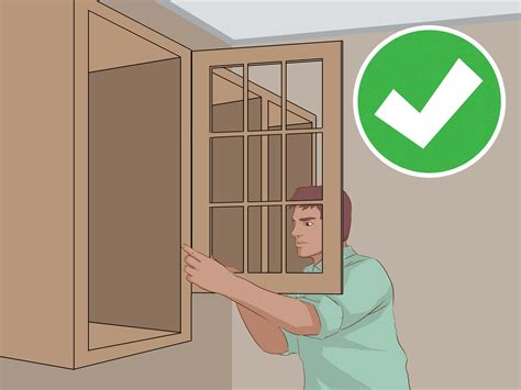 how to hang cabinets how to hang wall cabinets 15 steps with pictures wikihow