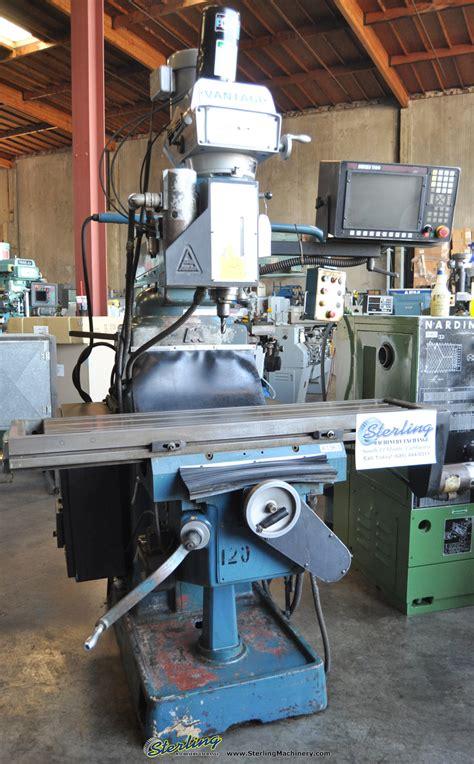 vantage axis cnc vertical milling machine