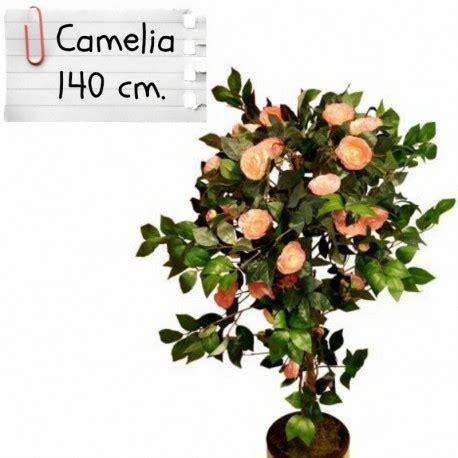 piante finte da interno piante finte artificiali da arredo interno camelia 140 cm