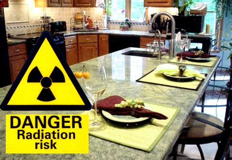 Granite Countertops Dangerous by Granite Kitchen Worktops Are Radioactive And Can Be More