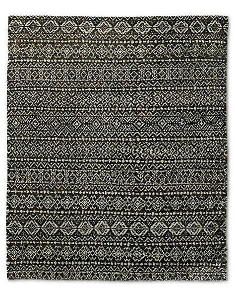 white jute rug raya moroccan jute rug black white