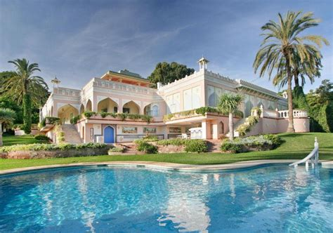 Square Footage Of Apartment 16 000 square foot indian amp moroccan inspired mansion in