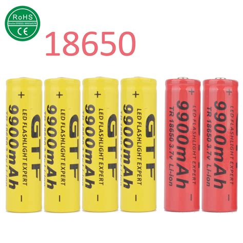 Battery 18650 Lithium Ion 3 6v 2200mah Flat buy basen bs186m 18650 3500mah 3 7v 30a high drain flat