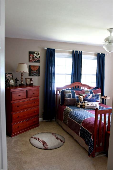bedroom baseball 25 best ideas about baseball curtains on pinterest