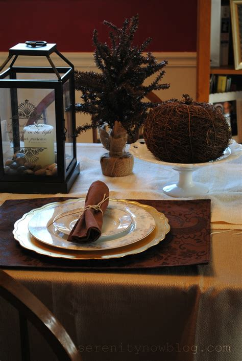 cheap thanksgiving table decorations serenity now my inexpensive thanksgiving table decor