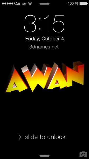 awan name wallpaper preview of black background for name awan