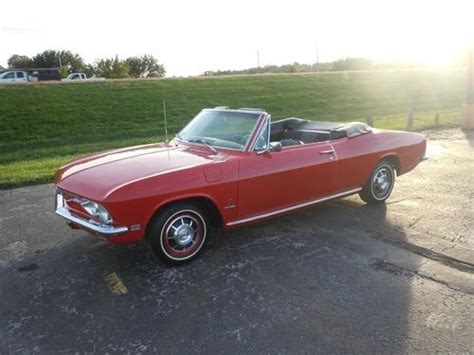 1968 chevy corvair convertible for sale sell used 1968 chevrolet monza corvair 2 dr convertible