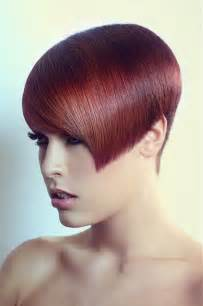 Red hair color hair as very short hair idea more fashionable