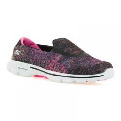 Skecher Go Walk 3 Womens Original skechers womens go walk 3 glisten trainers black pink ebay