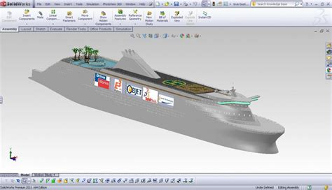 boat hull fusion 360 solidworks photoview 360 video rendering exle best