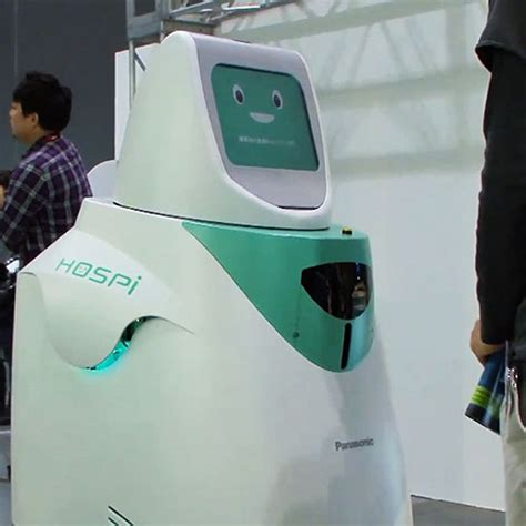 Vs Machine Robots At Japanese Hospital by In The Future Dealers Will Be Robots Technabob