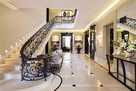 elegant contemporary english mansion  hampstead