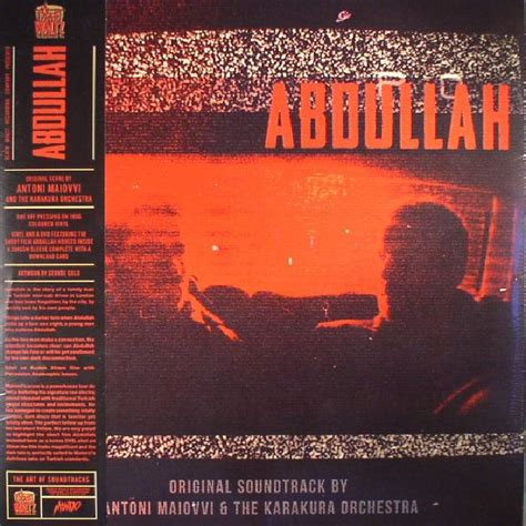 Waltz Record Store Day Antoni Maiovvi The Karakura Orchestra Abdullah Soundtrack Record Store Day 2017