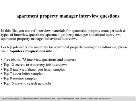 professional administrative resume sle to make you get the apartment property manager questions