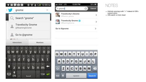 android pattern finder android vs iphone differences in ui patterns and design