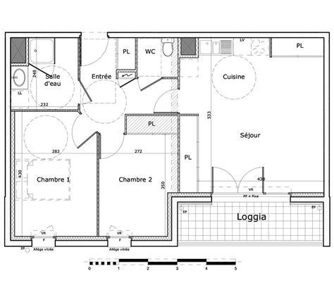 t3 combien de chambre appartement t3 61 98m 178 224 rennes villejean beauregard