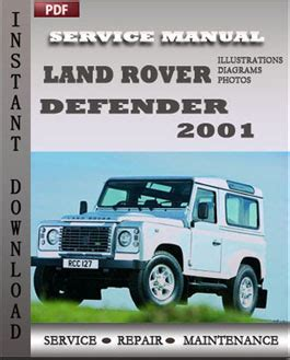 car owners manuals free downloads 2001 land rover freelander windshield wipe control land rover defender 2001 service manual download repair service manual pdf