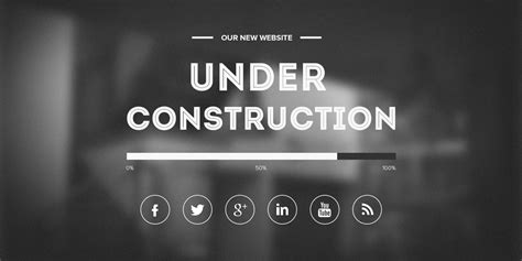 free under construction template freebies gallery