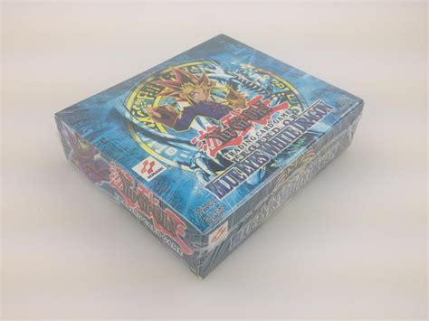 yugioh deck box deck yu gi oh legend of blue white 1st