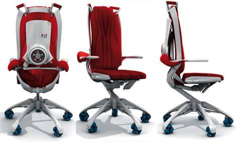 Exercise Office Chair by Fitness Work Office Chair Concept Lets You Get A Workout