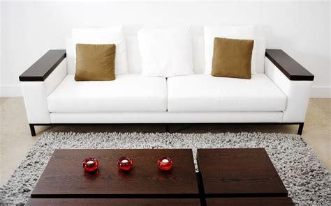 Small White Loveseat Small White Leather Sofa Thesofa