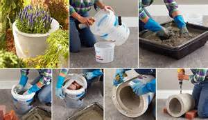 diy concrete planter fabdiy