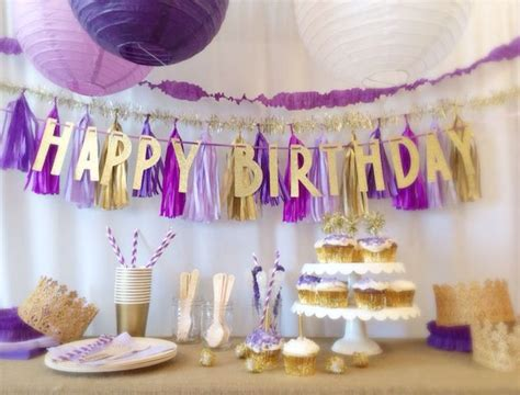 Birthday Decorations by Best 25 Purple Ideas On Purple