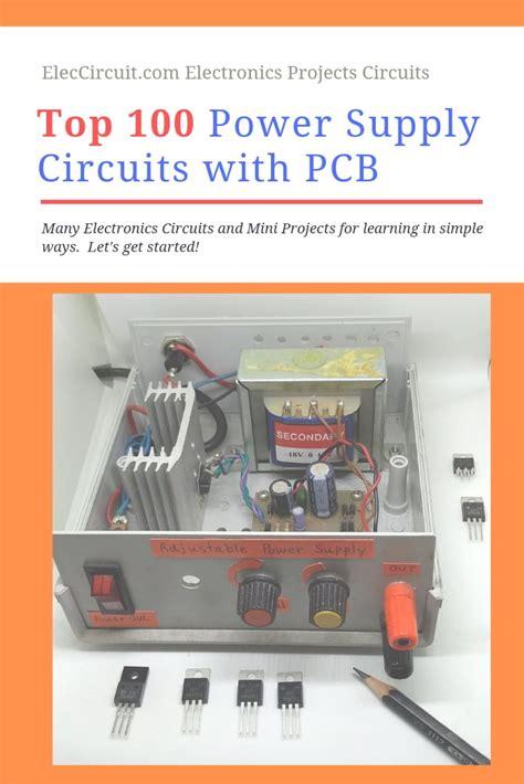 power supply circuit diagram  pcb eleccircuitcom