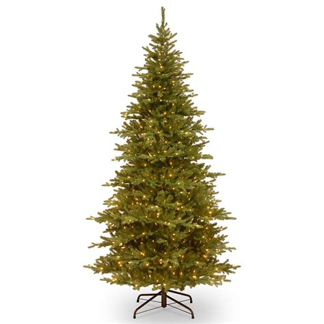 7ft most advanced pre lit smokey mountain fir slim feel