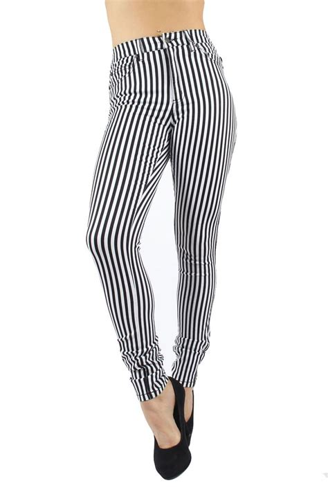 black and white patterned jeans 1000 images about black and white striped jeans on