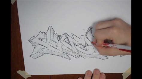 how to write cool letters on paper graffiti tips for beginners