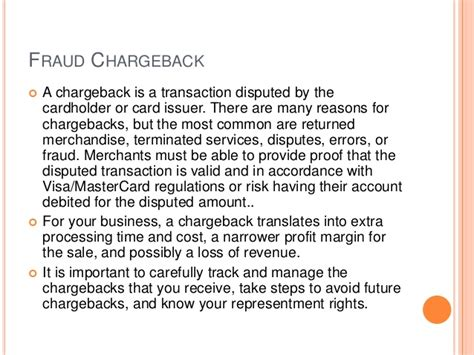Dispute Chargeback Letter small businesses tips to avoiding fraudulent chargebacks