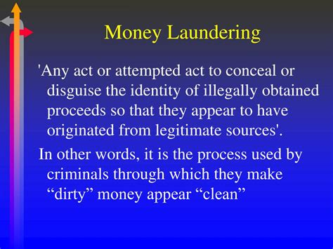 usa patriot act section 352 anti money laundering ppt download
