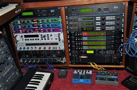 Rack Synth by Synth Nl Analog Sfx Processor Racks