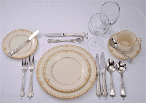 how to set a table with silverware cutlery table setting brokeasshome com